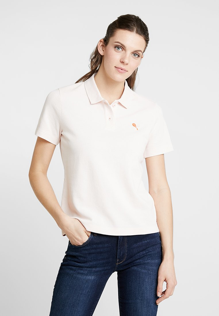 Marc O'Polo - SHORT SLEEVE SLIGHTLY - Poloshirt - chilly rose
