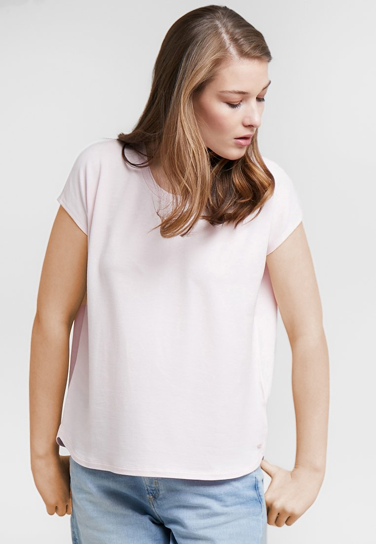 Marc O'Polo - OVERCUT SHO - Basic T-shirt - fresh rose
