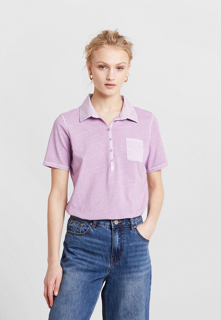 Marc O'Polo - SHORT SLEEVE - Polo - light lavender