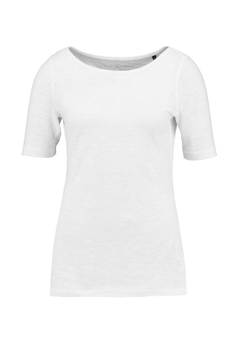 Marc O'Polo SHORT SLEEVE BOAT NECK - T-shirt basic - white