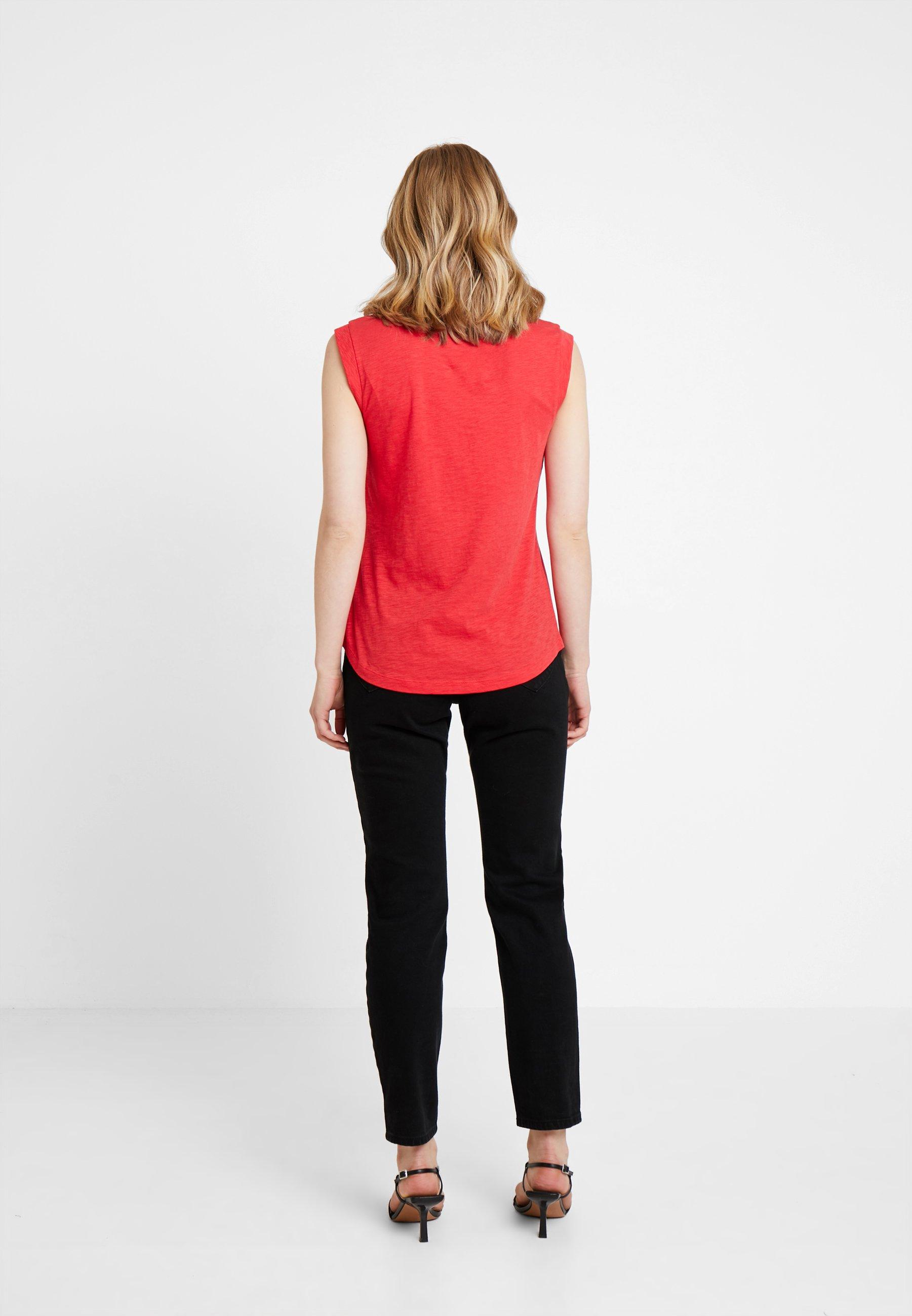 Marc O'polo Basique Red Round NeckT shirt 8NO0wPXknZ