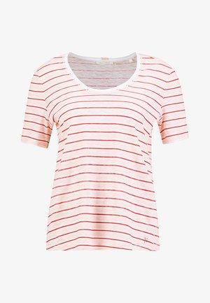 SHORT SLEEVE ROUNDED - T-shirt print - combo