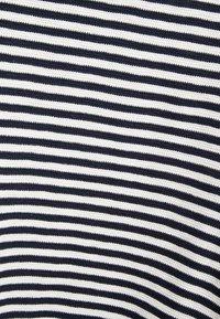 Marc O'Polo - LONG SLEEVE BOATNECK - Sweter - mottled blue - 5