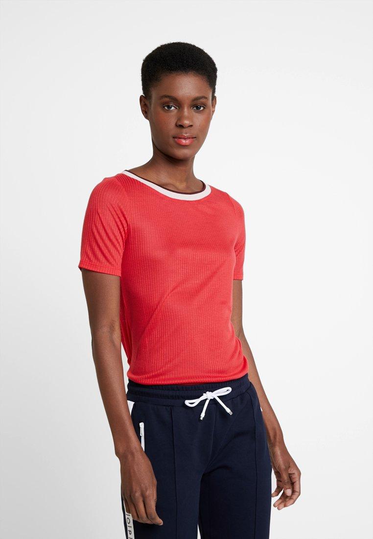 shirt Marc Fresh O'polo Short SleeveT Hip Imprimé Rose DHW2YE9I