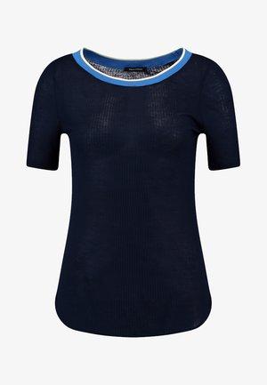 SHORT SLEEVE - T-shirt z nadrukiem - midnight blue
