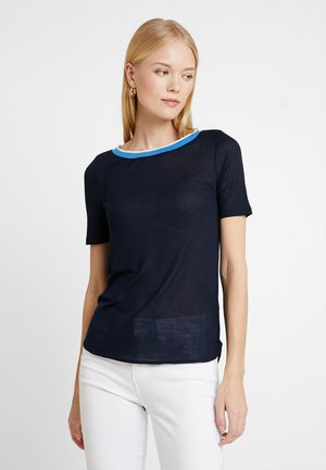 SHORT SLEEVE - T-shirt z nadrukiem - midnight blue