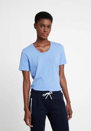 SHORT SLEEVE ROUND NECK - T-shirt basic - scandinavian sky