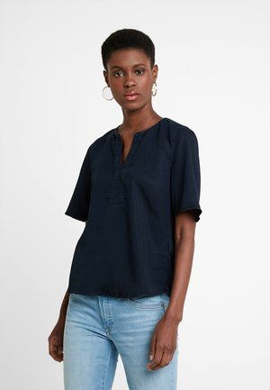 BLOUSE EASY SHAPE - Blouse - blue denim