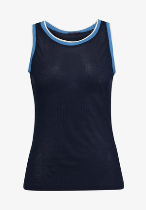 SLEEVELESS ROUNDNECK - Top - midnight blue
