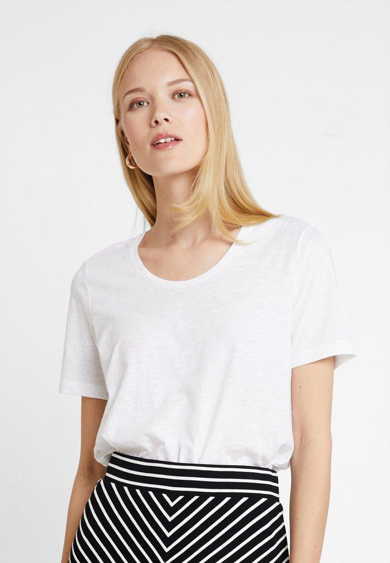 Marc O'Polo - SHORT SLEEVE ROUND NECK - T-Shirt basic - white