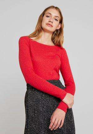 Long sleeved top - fresh rose hip