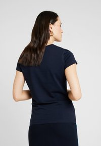 Marc O'Polo - SHORT SLEEVE ROUND NECK - Camiseta estampada - midnight blue - 2