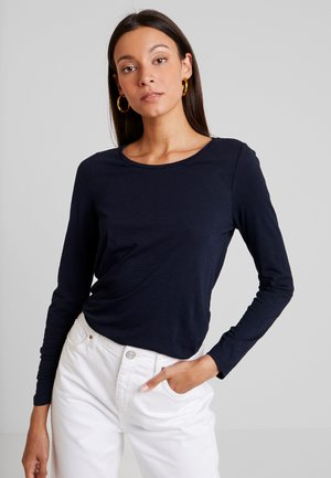 LONG SLEEVE SLIGHT A SHAPE - T-shirt à manches longues - midnight blue