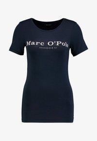 Marc O'Polo - ROUND NECK - T-shirt print - midnight blue - 3