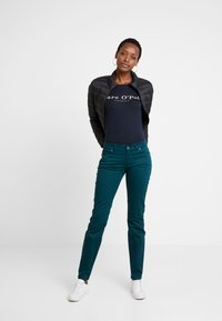 Marc O'Polo - ROUND NECK - T-shirt print - midnight blue - 1