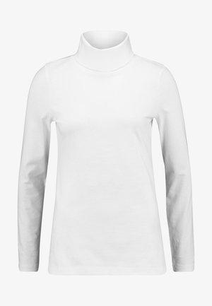 LONG SLEEVE TURTLE NECK SOLID - Longsleeve - soft white