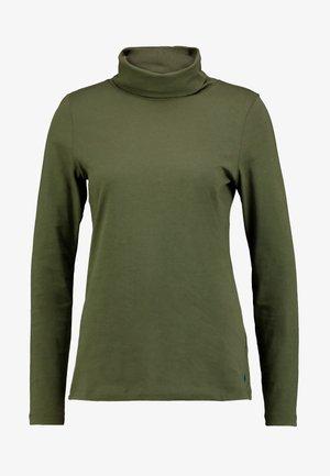 LONG SLEEVE TURTLE NECK SOLID - Bluzka z długim rękawem - farmland green