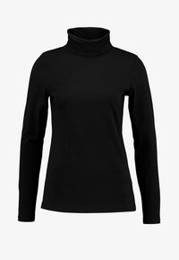 Marc O'Polo - LONG SLEEVE TURTLE NECK SOLID - Bluzka z długim rękawem - black - 3