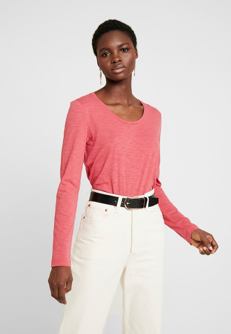 Marc O'Polo - LONG SLEEVE - Long sleeved top - berry smoothie