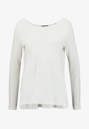 LONG SLEEVE BOATNECK - Camiseta de manga larga - soft white