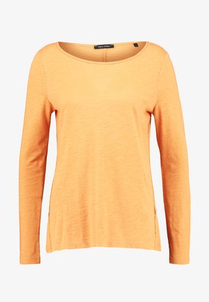 LONG SLEEVE BOATNECK - T-shirt à manches longues - amber wheat