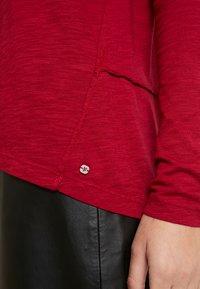 Marc O'Polo - LONG SLEEVE BOATNECK - Long sleeved top - light beetroot - 5