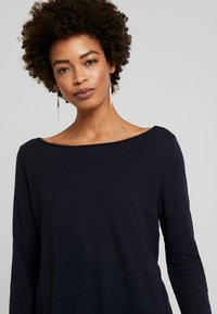 Marc O'Polo - LONG SLEEVE BOATNECK - Long sleeved top - midnight blue - 3