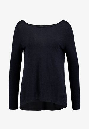 LONG SLEEVE BOATNECK - Long sleeved top - midnight blue