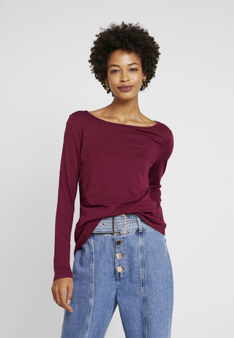 Marc O'Polo - LONG SLEEVE - Topper langermet - berry pink