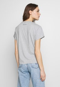 Marc O'Polo - SHORT SLEEVE ROUND NECK LOGO AT BACK NECK - T-shirt basic - pebble melange - 2