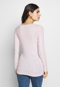 Marc O'Polo - LONG SLEEVE BOAT NECK - Long sleeved top - light pink - 2