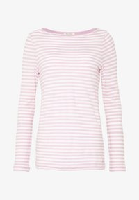 Marc O'Polo - LONG SLEEVE BOAT NECK - Long sleeved top - light pink - 4