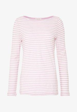 LONG SLEEVE BOAT NECK - Långärmad tröja - light pink