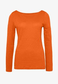 Marc O'Polo - T-SHIRT, LONG SLEEVE, BOAT NECK - Long sleeved top - fresh carrot - 3