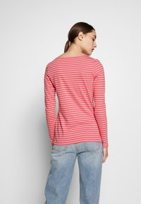 Marc O'Polo - LONG SLEEVE ROUNDNECK STRIPED - T-shirt à manches longues - bright berry - 2