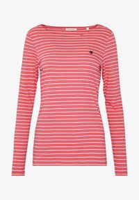 Marc O'Polo - LONG SLEEVE ROUNDNECK STRIPED - T-shirt à manches longues - bright berry - 4