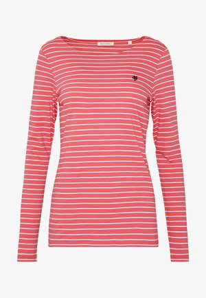 LONG SLEEVE ROUNDNECK STRIPED - Topper langermet - bright berry