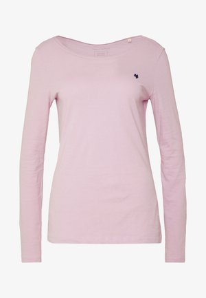 LONG SLEEVE ROUND NECK SOLID - Long sleeved top - bleached berry