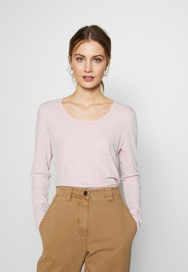 LONG SLEEVE - Long sleeved top - bleached berry