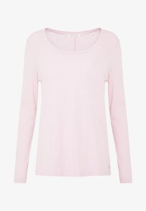 LONG SLEEVE ROUND NECK - Maglietta a manica lunga - bleached berry