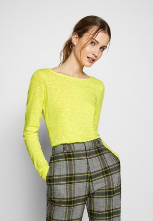 LONG SLEEVE - Long sleeved top - juicy lime