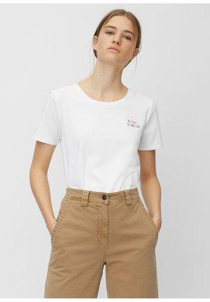 SHORT SLEEVE - Print T-shirt - multi/white