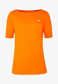 Marc O'Polo - SHORT SLEEVE ROUNDNECK - Jednoduché triko - fresh carrot - 4
