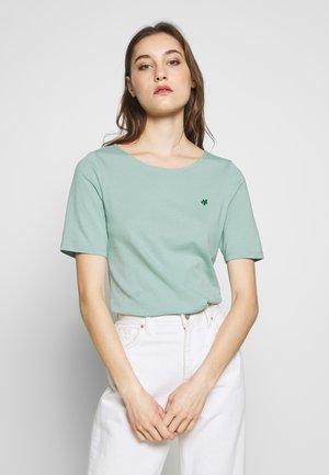 SHORT SLEEVE ROUNDNECK - Basic T-shirt - misty spearmint
