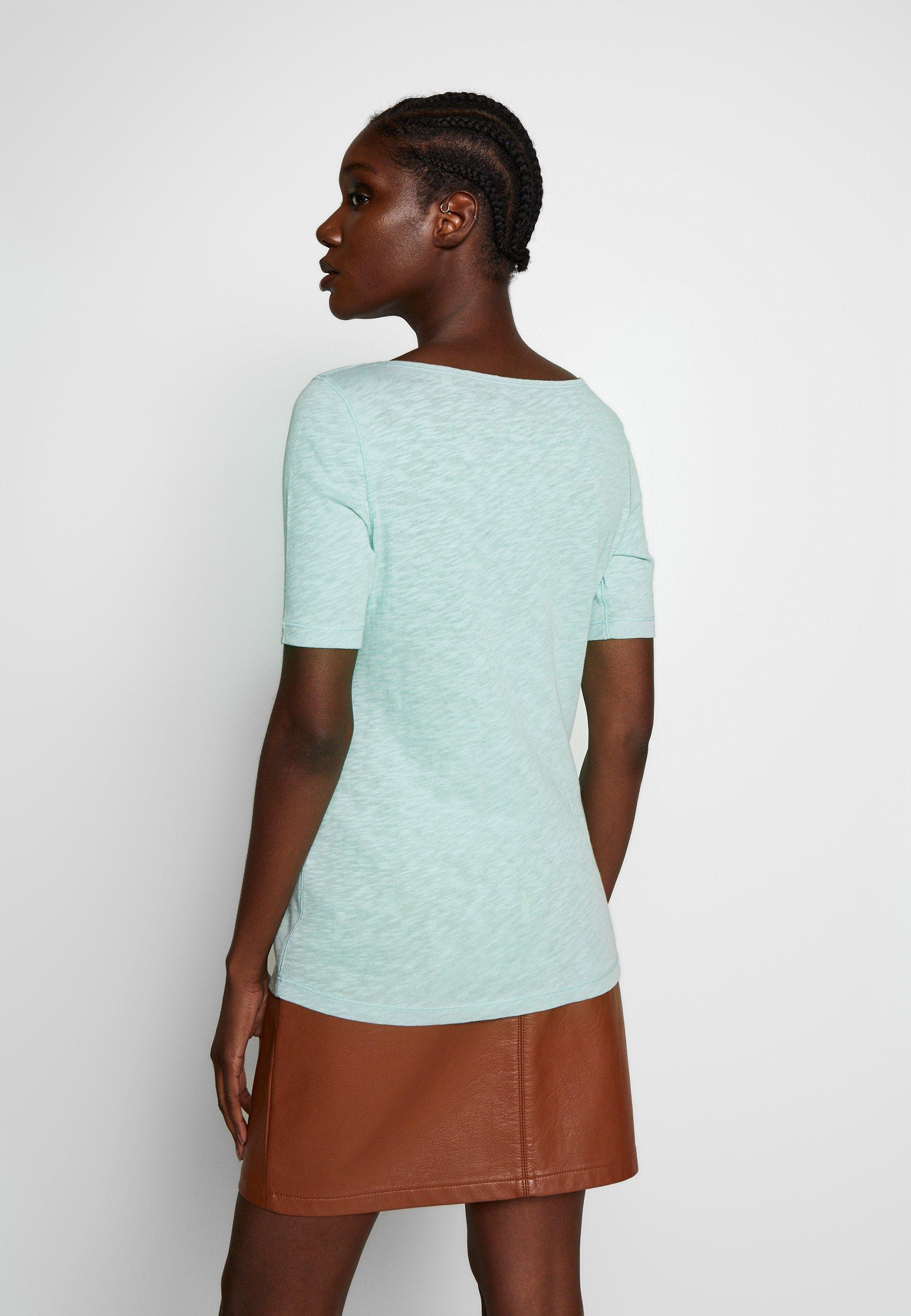Marc O'Polo BOAT NECK - T-shirt basic - misty spearmint