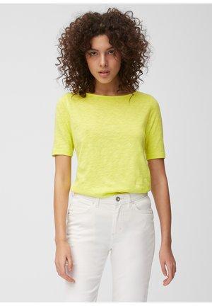 BOAT NECK - T-shirt basic - juicy lime
