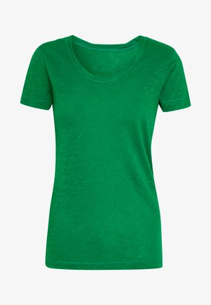 TWISTED DEEP ROUND-NECK - T-shirt basic - spring forest