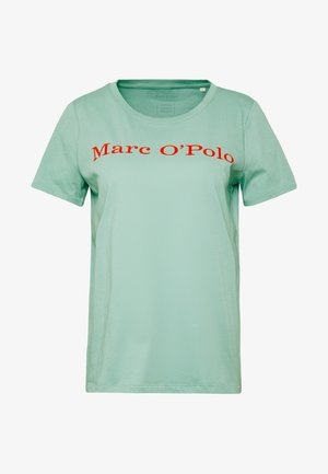 SHORT SLEEVE CREW NECK - T-shirt med print - misty spearmint