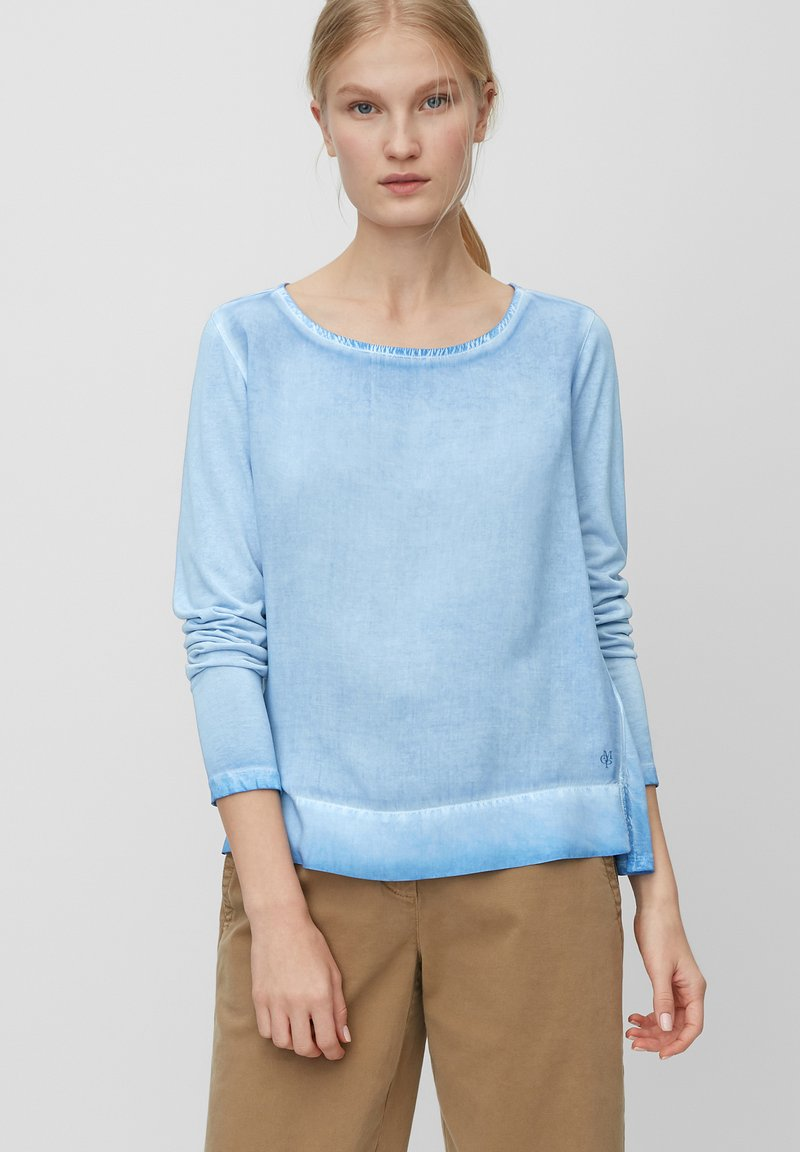 Marc O'Polo - Long sleeved top - blue