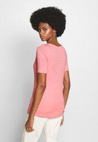 Marc O'Polo - SHORT SLEEVE BOAT NECK - T-shirt basique - salty peach - 2